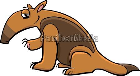 tamandua anteater cartoon