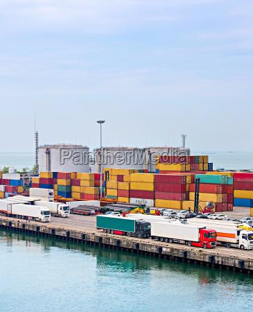 batumi sea port georgian republic