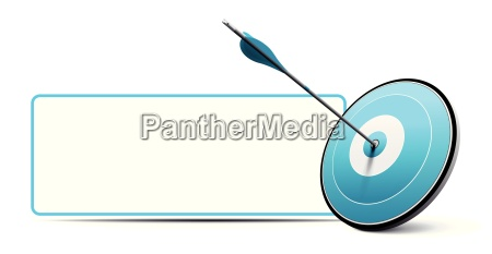 target and arrow vector business communication
