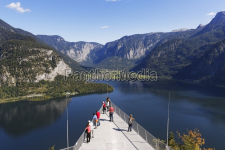 austria salzkammergut hallstatt observation platform welterbeblick