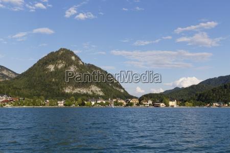 austria salzburg state fuschlsee lake fuschl