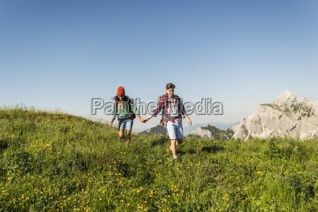 austria tyrol tannheimer tal young couple
