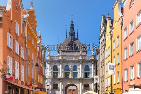 long lane and golden gate gdansk