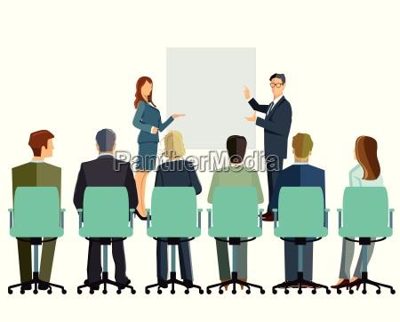 information vortrag beratung diskussion