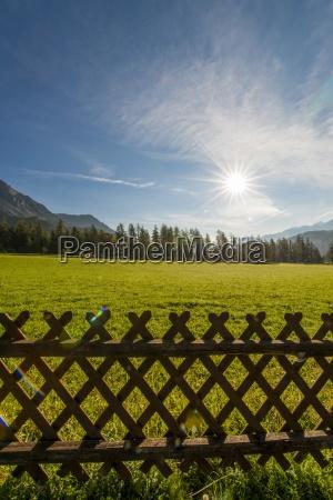 austria styria valley of ramsau