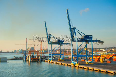 industrial commercial sea port