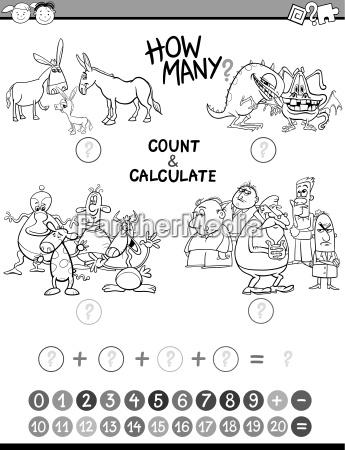 educational avtivity coloring book