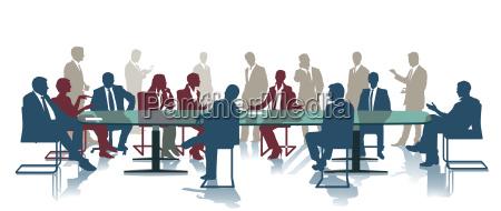 konferenz versammlung