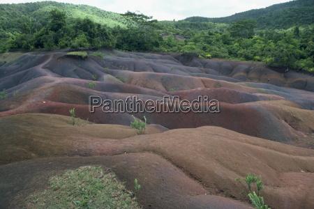 farbige erdemauritiusafrika