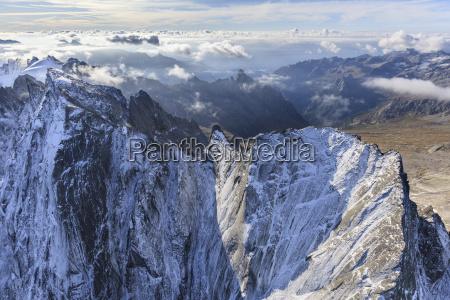 aerial view of cima della bondasca