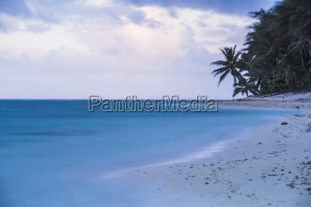 tropical beach rarotonga cook islands south