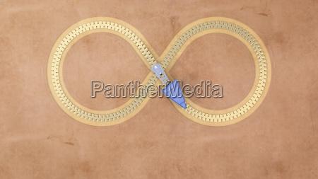 infinity zip 3d rendering