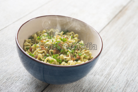 asian dried noodles bowl