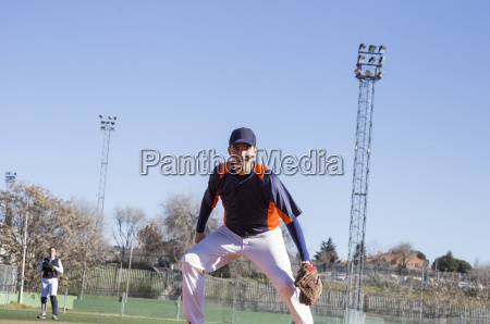confident baseball player during a baseball