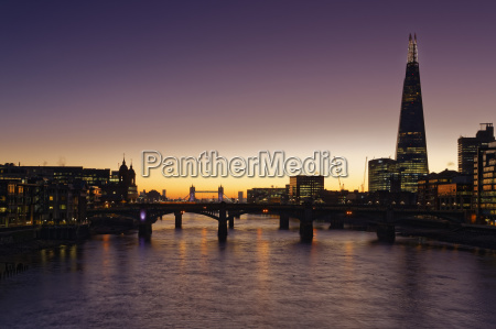 uk london river thames with the
