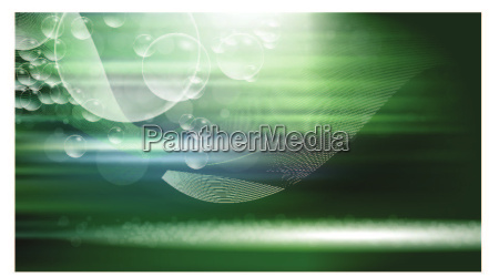 digital vector green abstract empty background