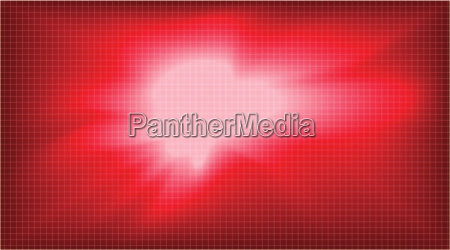 digital vector abstract empty red background