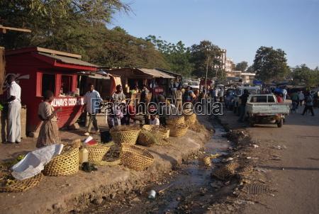 fahrt reisen stadt afrika horizontal plaetze