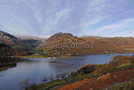 ullswater, glenridding, lake, district, nationalpark, cumbria, england, großbritannien, europa - 20897815