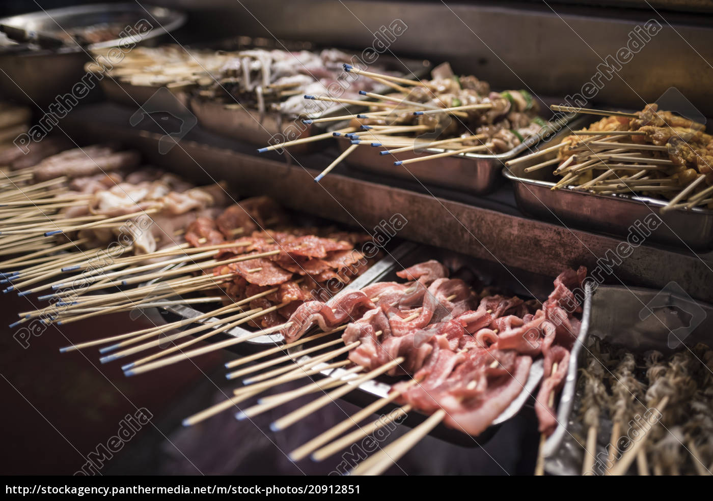 straßenküche, in, chinatown, bei, nacht, kuala, lumpur, malaysia, südostasien, asien - 20912851