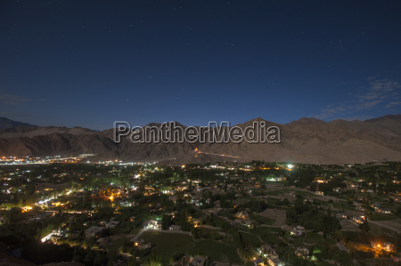 leh the capital city of ladakh
