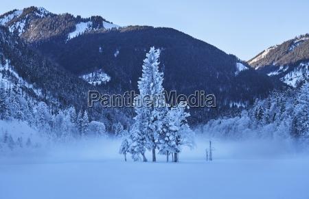 austria tyrol karwendel riss valley in