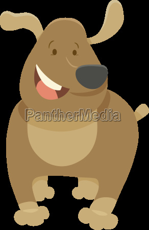funny dog pet cartoon