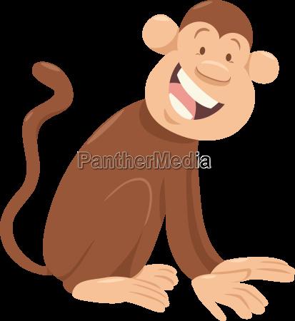 monkey cartoon animal character