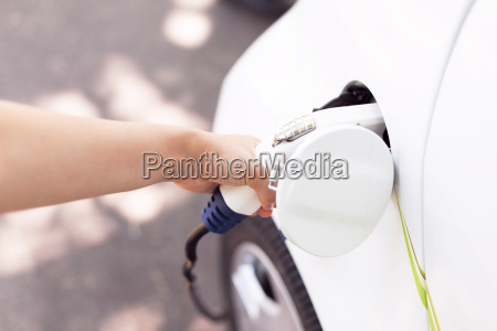 charging battery of an electric vehicle