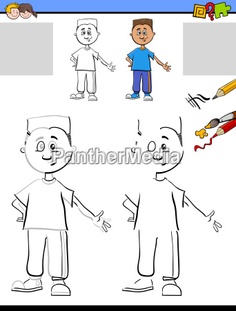 drawing and coloring for kids