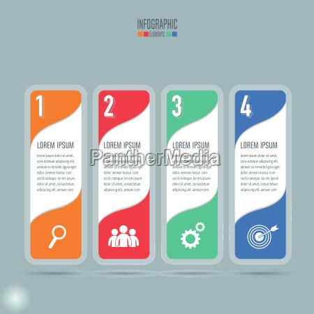 kreatives konzept fuer infografik infografische design