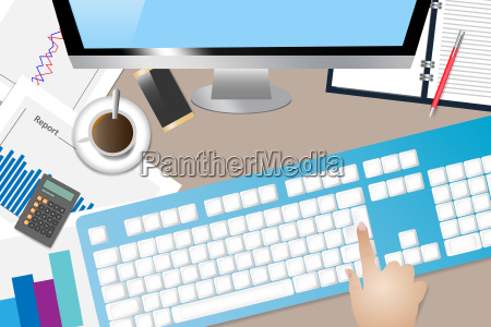 office table business concept