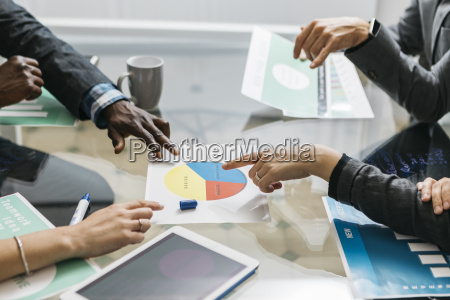 creative business people having a meeting