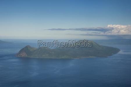 aerial of tongoa island shepherd islands
